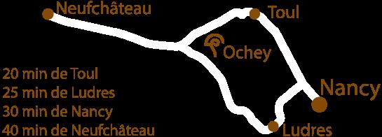 Carte Ochey La Coquille du GOurmet