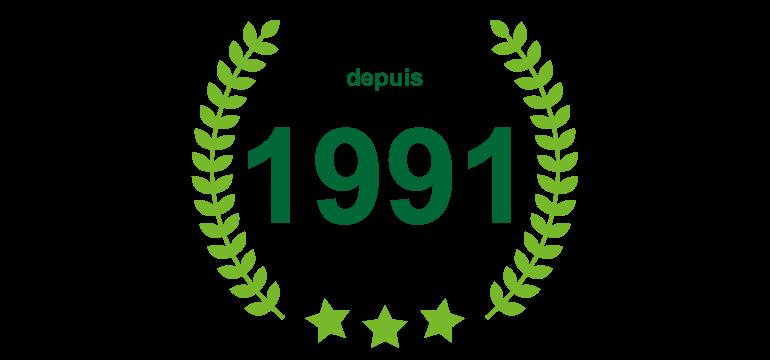 Depuis 1991